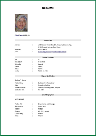 Best Resume Format For Job The Best Resume Sample In Malaysia Resume Ixiplay Free Resume 42