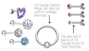 Nose Ring Gauge Chart Www Kyra Ae Guide To Body Jewelry