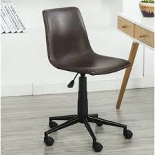 leather swivel office chair. florinda faux swivel air lift office chair leather