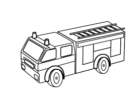 Fire Engine Coloring Pages To Print Spikedsweetteacom
