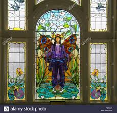 Stained Glass Window Designs For Bathrooms Angel Of Purity Window Art Deco Stained Glass At Victoria