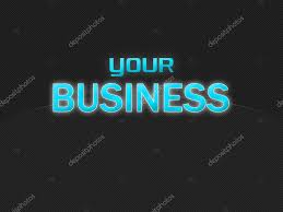 Dark Background Light Text Dark Background With Light Blue Text Your Business Stock