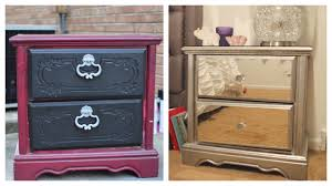 how to make mirrored furniture. Contemporary Make DIY Mirror Nightstand 4 Dresser Revamp  IKEA Rant  And How To Make Mirrored Furniture
