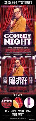 Comedy Show Flyer Template Comedy Night Flyer Template Comedy Nights Flyer Template And Template 9