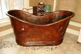 image of metal bathtub