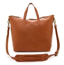 madewell zip transport tote