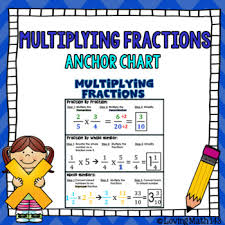 Multiplying Fractions By Whole Numbers Anchor Chart Multiplying Fractions Anchor Chart
