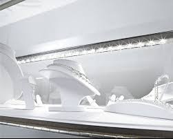 inspired led lighting. display case ligthing to make your retail space glow led strip lights line this by inspired led lighting