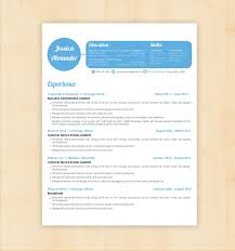 Gallery Of Resume Template Design