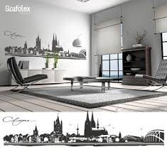 Cologne Cologne Wall Decals Wall Sticker Wall Stickers Skyline Etsy