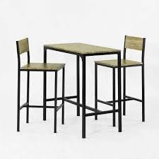 Luxueux Table Haute En Bois Cdiscount Table Haute Cdiscount Design
