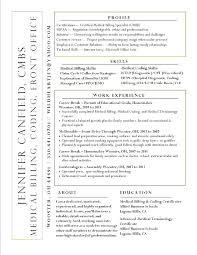 Sample Resume For Medical Coder Medical Coding Sample Resume Medical