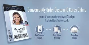 employee badges online instantcard order employee id cards badges online with free design