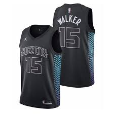The suns' city edition jersey features a pixelated desert sunset that also forms the broad outline of camelback mountain. 17 18 Charlotte Hornets Kemba Walker City Edition Uniforms