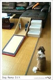 homemade dog ramp dog ramp for stairs stair projects to try diy dog ramp for bed homemade dog ramp