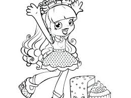 Shopkins Shoppies Coloring Pages Ryanbreauxco