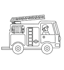 Wright Brothers Coloring Page Printable Fire Truck Coloring Pages