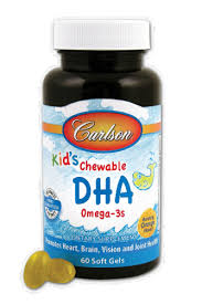 Carlson for Kids Chewable DHA, 60 ct - Food 4 Less