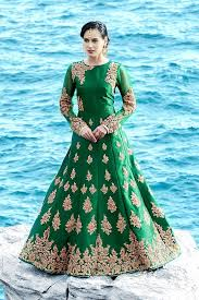 indian gowns wedding gowns india bridal gowns india a line Wedding Gown On Rent In Mumbai picture of enchanting green traditional party gown wedding dress on rent in mumbai