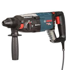 bosch bulldog hammer drill. bosch 8 amp corded 1-1/8 in. sds-plus variable speed bulldog hammer drill