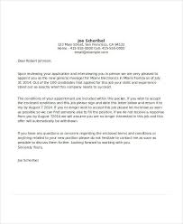 Email Accepting A Job Offer Mesmerizing 48 Appointment Letter Examples Samples PDF DOC