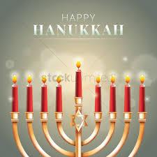 happy hanukkah greeting vector graphic
