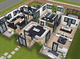 The Sims Mobile Home Design House 75 Remodelled Player Designed House Ground Level