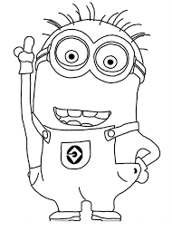 Small Picture Jerry the Minion from Despicable Me Coloring Page NetArt