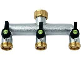 garden hose splitter. Garden Hose Splitter Brass 3 Way Tap Adaptor Bunnings E