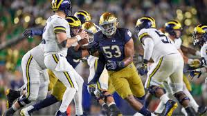 Michigan Football Scholarship Chart Counting Down The 2019 Notre Dame Schedule 2 Michigan