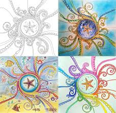 aliexpress 24 pages lost ocean coloring book antistress for children relieve stress painting drawing secret garden colouring books from