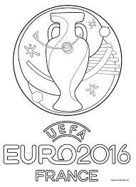 Logo Officiel De L Euro 2016 Euro 2016 Pinterest Coloriage