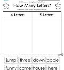 funny 5 letter words print awareness how many letters a wellspring of worksheets