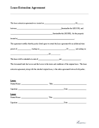 Free Simple Lease Agreement Template | Nfcnbarroom.com