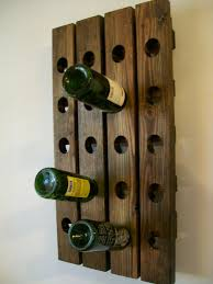 creative of wine shelves for wall riddling wood rack within mounted idea 8