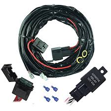 cheap wiring harness plugs wiring harness plugs deals on get quotations · mictuning universal 2 lights 12 ft tinned copper off road led wiring harness kits