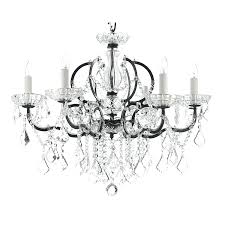 wrought iron crystal chandelier blak rystal helier overstokom gallery versailleini 2 in 1 set with shades ch