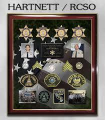Riverside Sheriff Org Chart Sheriff Career Showcase Shadowbox And Framing Presentations