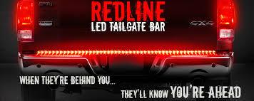 redline led tailgate light bar reverse opt7 redline tailgate light bar