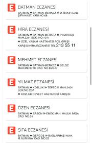 """Batman Sonsöz Gazetesi على تويتر: """"2 #nisan 2020 Nöbetçi Eczaneler #batman # eczane #nöbetçi @Mr_Erdgn @betder_7272 @ecztekder @eczaneee  https://t.co/fO4qYJKXua"""" / تويتر"""
