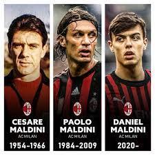 Football News - 🇮🇹 1954 - Cesare Maldini 🇮🇹 1984 - Paolo...