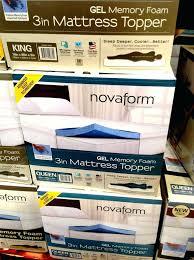 costco mattress topper. Novaform Mattress Topper Costco Look For This Display At Costco Mattress Topper