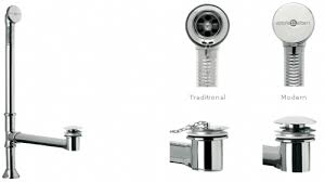 drain for freestanding tub. victoria \u0026 albert std-uni-pc chrome standard drain freestanding tub for t
