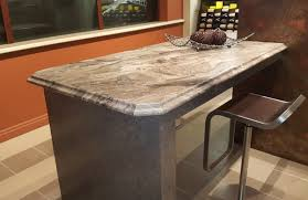 using vangura s best ing profiles savana and savante homeowners can now finish the sides of island tops or open ends of standard kitchen countertops