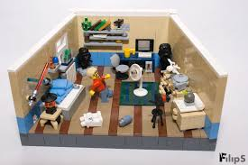 the bricks furniture. Nerd Star Geek LEGO Furniture Room Bricks Games Scifi Wars Vignette Filips Moc Diidy The G