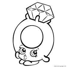 Shopkins Coloring Pages Pdf With Coloring Pages S Free Coloring
