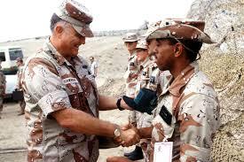 general h norman schwarzkopf usa academy of achievement army general h norman schwarzkopf u s central command commander left greets u s
