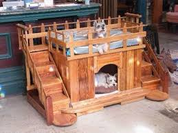wood dog bed furniture. Pallet Made Dog Beds And Houses Wood Bed Furniture