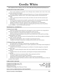 Personal Trainer Resume Sample. Personal Trainer Resume Gym Manager ...