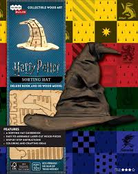book cover image jpg incredibuilds harry potter sorting hat deluxe book and model set